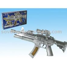 914020376 pistola de juguete de la batería, pistola de juguete con sonido, pistola de chispa con la música