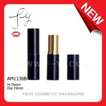 Elegante aduana de aluminio cuadrado Lipstick Contenedor