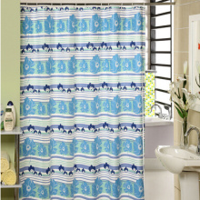 EVA bedruckter Duschvorhang