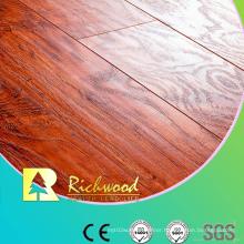 Household 8.3mm HDF AC4 Embossed Elm V-Grooved Laminate Floor