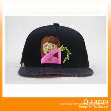 Крышки Snapback 3D вышивки 6 панелей Snapback Шляпы