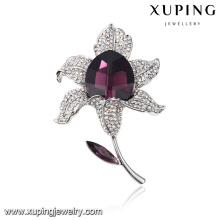 00051 perfeito top grau bouquets de casamento com broche de cristais finos de Swarovski, jóias da moda