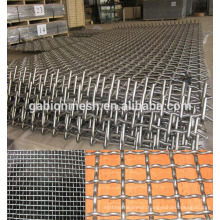 6mm opening black wire crimped wire mesh China supplier