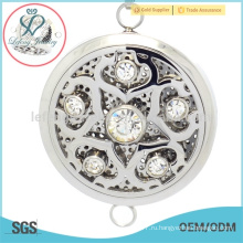 Нержавеющая сталь арома диффузор подвеска медальон, полые нержавеющей стали ароматерапия медальон ювелирные изделия