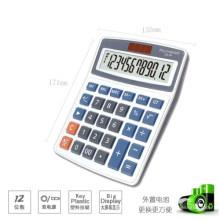 calculadora de escritorio electrónica con 12 dígitos