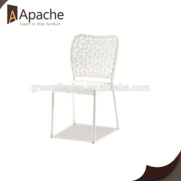 Excellent factory directly rattan square table with high back chairs