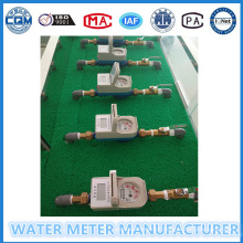Medidor pré-pago para abastecimento de água para apartamentos