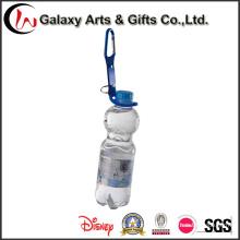 Moda personalizado garrafa titular talabarte com mosquetão
