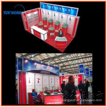 Fashionable high quality low price aluminum prefab coffee kiosk booth design