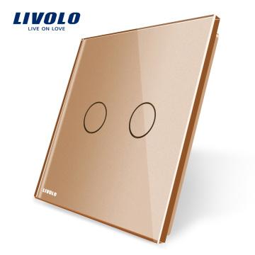 Livolo EU Standard Glass Panel for 1 Gang Wall Touch Switch VL-C7-C1-13