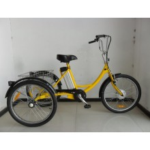 "24 ""Pedal Assisted Electric Cargo Trike"