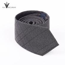 Cravate tissée de cravate de jacquard de partie de mode 100% soie des hommes