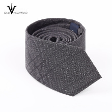 Moda Festa Jacquard Woven Tie 100% Gravata dos homens de seda