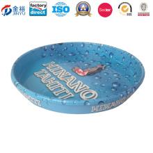 Rutschfeste Material-Nahrungsmittelgrad-Metallkuchen-Behälter für feiern Jy-Wd-2015122605