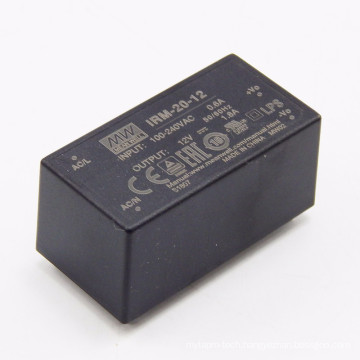 Meanwell IRM-20-3.3 20W 3.3V Encapsulated Type open frame power supply