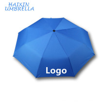 3 Fold Cheap Custom Print Rain Promotion Smart Umbrella Umbrellas with Pongee Fabric on Amazon