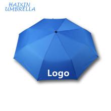 3 Fold Cheap Custom Print Rain Promotion Smart Umbrella Umbrellas with Pongee Fabric on Amazon