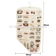 Hanging Jewelry Organizer storage 80 Pockets Accessories For Necklaces Pendants