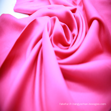 Tissu satin de rayonne mode de couleur vive pour pyjama