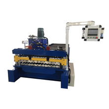 Metal steel corrugated double deck roof sheet forming machine sheet roof roll forming machine metal roofing sheet design