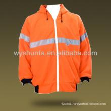Hi Vis Safety Fleece Hoodies Jacket