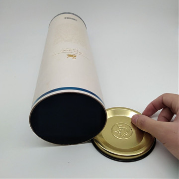 Special Deisgn Customize Round Packaging Wine Tube Box