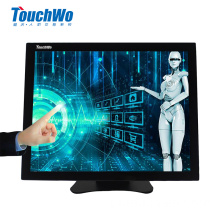 OEM 15 polegadas industrial touch screen LED monitor