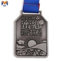 Running race award souvenir medaille voor finisher