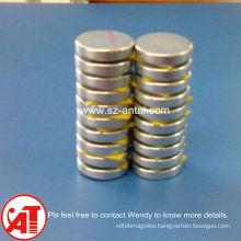 Super strong neodymium speaker magnet 8mm diameter * 3mm height n45