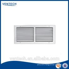 Aluminum return air grille