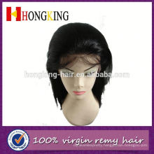 Indian Remy Hair Silk Top Front Lace Wig Made In China