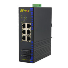 Switch industrial Poe Ethernet rápido