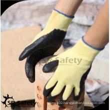 SRSAFETY cheap price/nitrile coating work gloves EN388 312/hand gloves