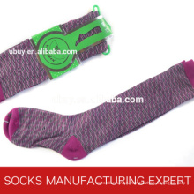100% Cotton of Woman Coloful Tube Sock (UBM1054)