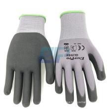 Flex 34-874 Nylon Spandex Nitrile Micro Foam Coated Ansell Gloves