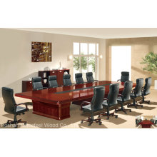 Mobilier de bureau en bois de luxe Table de conférence Bureau de réunion (HF-MH7002)