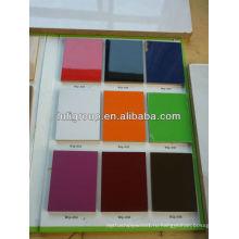 Много видов цвета УФ-Шпонированная МДФ