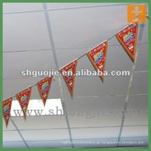 Impressão de bandeiras de Pennat de suspensão