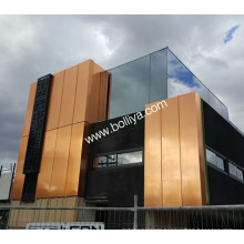 Composite Copper Wall Panels