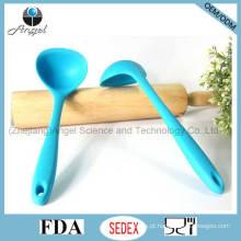 Hot venda colher de cozinha de silicone para cozinha ferramenta colher de sopa de silicone sk14