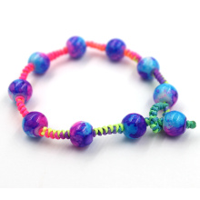 Custom fashion Handmade Woven Rope Beads Bracelet