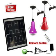 2014 mejor vendedor iluminación solar pequeño solar casa alumbrado con bombillas led