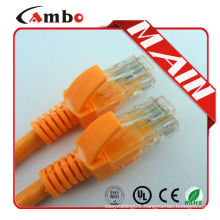 China digi-link cat6 patch cable Stranded 7*0.16 BC 24AWG