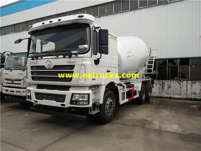 Used Concrete Mixer Trucks