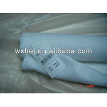 80% Cotton 20% polyester white terry fabric in stock for mattress cover