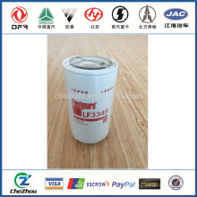 construction machinery parts ,heavy truck freightliner parts and tools ,LF3349oil filter
