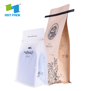 Kilang Kraft Paper Coffee / Herbal Tea Bag Eco Friendly