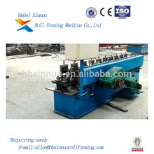 Hebei Xinnuo Steel Sheet Metal Profile Aluminium Panel Roll Forming Machine For C&U Purline Manufacturing