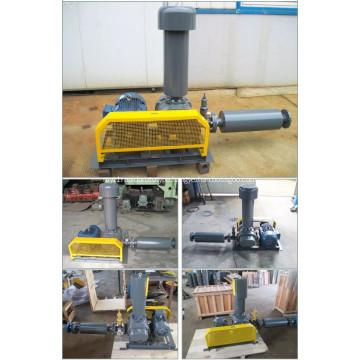 3 Lobe Biogas Roots Vacuum Blower Pump