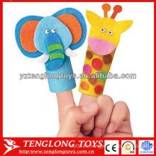 Bebé de juguete estilo animal dedo títere conjunto